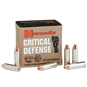 Hornady Critical Defense .32 H&R Magnum Flex Tip Expanding, 80 Grain (25 Rounds) - 90060