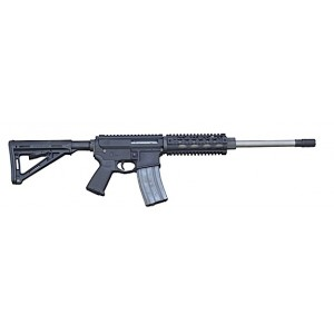 """2 Vets Blackout .300 AAC Blackout 30-Round 16"""" Semi-Automatic Rifle in Black - 2VA300BLK"""