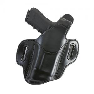 Aker Leather Nightguard XL Right-Hand Belt Holster for Heckler & Koch P2000 in Black (W/ Surefire X200) - H147BPRU-P2K X2