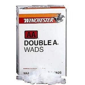 Winchester Wads 20 Gauge 7/8-1 1/4 White 5000 100 Count Box WAA20
