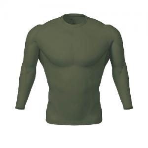 5.11 Tactical Tight Crew Men's Long Sleeve Shirt in Black - Medium