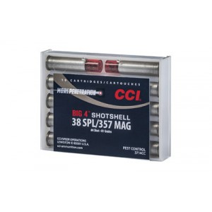 CCI Speer Shotshell .357 Remington Magnum/.38 Special Shot Shell, (10 Rounds) - 3714CC