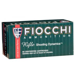 Fiocchi Ammunition .30-06 Springfield Pointed Soft Point, 180 Grain (20 Rounds) - 3006D