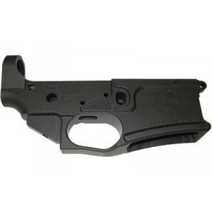 Drd Stripped Lower, Semi-automatic, 223 Rem/556nato Black Finish, Drd Skull Logo Lowerbilar