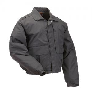 5.11 Tactical Double Duty Men's Full Zip Jacket in Black - Large