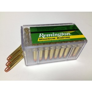 Remington R22M1 Magnum Rimfire 22Mag JHP 40 GR 50Box/40Case