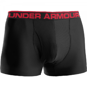 "Under Armour BoxerJock 3"" Men's Underwear in Black - Medium"