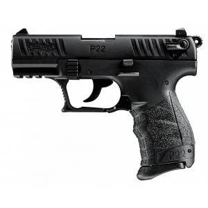 """Walther P22 .22 Long Rifle 10+1 3.42"""" Pistol in Polymer (Rimfire) - 5120300"""