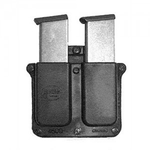Fobus USA Double Magazine Pouch Magazine Pouch in Black Smooth Plastic - 4500BH