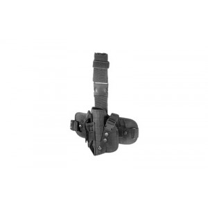 Leapers, Inc. - Utg Special Ops Universal, Leg Holster, Fits Most Large Autos, Left Hand, Black Finish Pvc-h178bl - PVC-H178BL