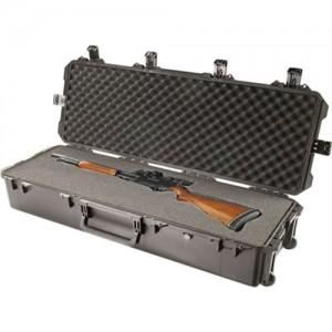 Storm 2 Gun Waterproof Case w/Foam Inserts/Wheels/Black Finish IM3220