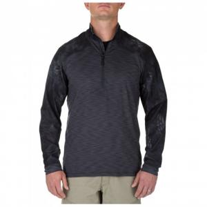 5.11 Tactical Rapid Men's 1/2 Zip Pullover Jacket in Charcoal - Large