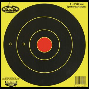 Birchwood Casey 35908 Dirty Bird Bull''s-Eye Targets 8 Pac