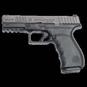 """Schmeisser SLP-9 9mm 17+1 4.5"""" Pistol in Black Polymer (9mm) - SLP9"""