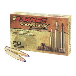 Barnes Bullets VOR-TX .30-06 Springfield Tipped TSX Boat Tail, 180 Grain (20 Rounds) - 21533