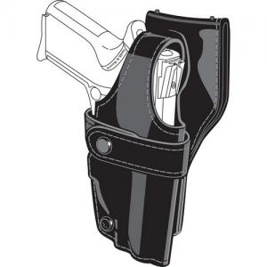 0705 SSIII Low-Ride Holster Finish: Hi-Gloss Black Gun Fit: Glock 17 (4.5  bbl) Hand: Right - 0705-83-91