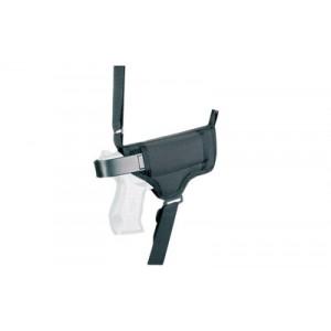 Desantis Gunhide Patriot Ambidextrous-Hand Shoulder Holster for Glock 26, 27 in Black - N84BJE1I0