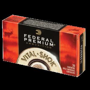 Federal Cartridge Vital-Shok Big Game .338 Winchester Magnum Trophy Bonded Tip, 200 Grain (20 Rounds) - P338TT2