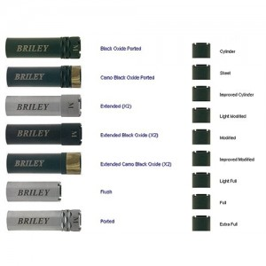 Briley 12 Gauge Black Extended Cylinder Choke Tube For Remington EXTCL