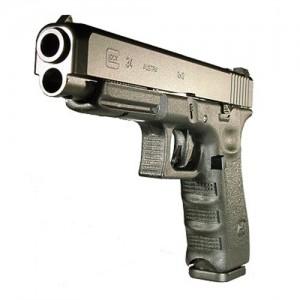 "Glock 34 9mm 10+1 5.32"" Pistol in Black (Gen 3) - PI3430101"