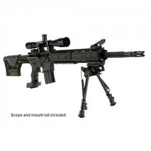 "DPMS Panther Arms Mini SASS Tactical Precision .223 Remington/5.56 NATO 30-Round 18"" Semi-Automatic Rifle in Black - 60544"