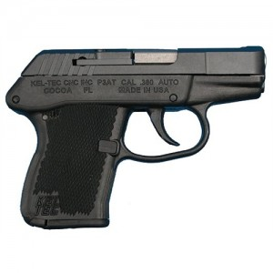 "Kel-Tec P-3AT .380 ACP 6+1 2.75"" Pistol in Parkerized - P3ATPKBLK"