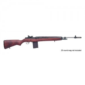 "Springfield M1A Super Match .308 Winchester 10-Round 22"" Semi-Automatic Rifle in Stainless Steel - SA9802"