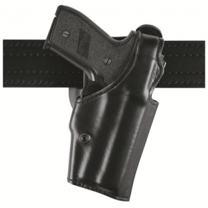 Model 200 Top Gun Lvl I Duty holster Finish: Hi-Gloss Gun Fit: Smith & Wesson M&P 9mm & .40 with & without thumb safety (4.50   bbl) Hand: Right Belt Size: 2.25  Option: None - 200-619-91