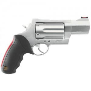 "Taurus 513 .410/.45 Long Colt/.454 Casull 6-Shot 3"" Revolver in Stainless (Raging Judge) - 2513039"