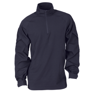 5.11 Tactical Rapid Assault Men's 1/4 Zip Long Sleeve in Dark Navy - 3X-Large
