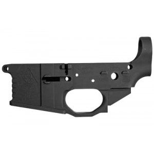 Black Rain Ordnance Lower Receiver, Semi-automatic, .223 Rem, Milled,black Finish, Made Of 7075 Billet Aluminum, Beveled Mag Well, Winter Trigger Guard, M4 Feed Ramps, Battle Grooves Bro-mlr