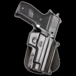 """Fobus GL36RB Roto Belt Holster GL36RB Fits up to 2.25"""" Belts Black Plastic - GL36RB"""