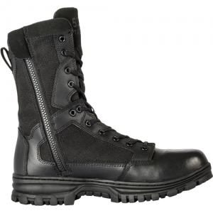 EVO 8  Boot with Side Zip Color: Black Size: 10.5 Width: Wide