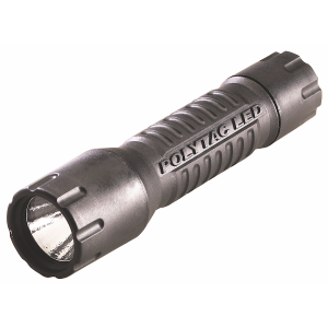 Streamlight 88850 PolyTac LED Flashlight 14/275 Lumens CR123A (2) Nylon Black