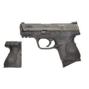 """Smith & Wesson M&P Compact 9mm 12+1 3.5"""" Pistol in Black - 220074"""