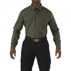 Stryke Shirt - Long Sleeve Color: TDU Green Size: Large Height: Regular