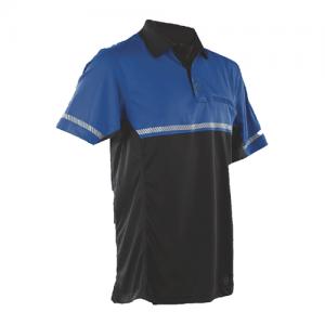Tru Spec 24-7 Bike Performance Men's Short Sleeve Polo in Royal Blue - 3X-Large