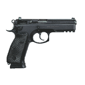 """CZ 75 SP-01 Tactical 9mm 18+1 4.7"""" Pistol in Black (Night Sights)- 91153"""