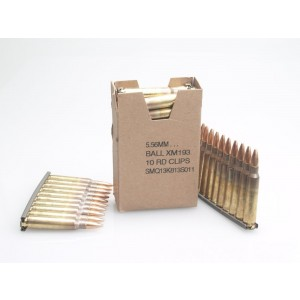 Federal Cartridge .223 Remington/5.56 NATO Full Metal Jacket, 55 Grain (30 Rounds) - XM193LC1AC1