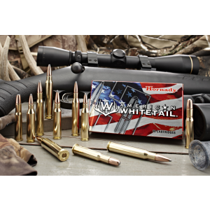 Hornady American Whitetail .243 Winchester Interlock, 100 Grain (20 Rounds) - 8047
