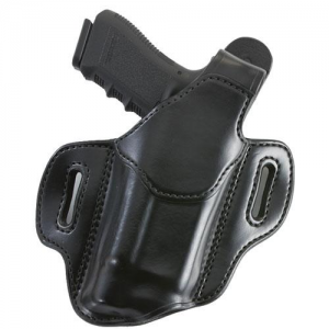 Aker Leather Nightguard XL Right-Hand Belt Holster for Sig Sauer P220 in Black (W/ Light or Laser) - H147BPRU-S226M3