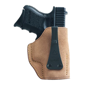 "Galco International Ultra 2nd Amendment Right-Hand IWB Holster for Walther PPK/PPKS in Tan (1.25"") - USA204"