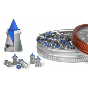 Gamo Blue Flame .177 Pellet, Black, 100 Per Pack 632270254