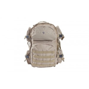 """Allen Intercept Tactical Pack, Tan Endurafabric 18.5""""x16""""x10"""", 2500 Cubic Inch, Hydration Compatable,compression Straps, Padded Shoulder Straps With Adjustable Sternum Strap, Internal Organizer Compartments, Side Carrying Handles 10858"""