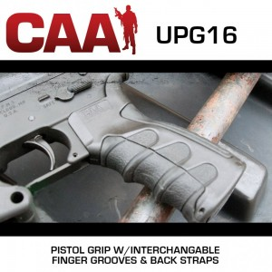 CAA Command Arms Black Target Pistol Grip For M16 & AR-15 UPG16