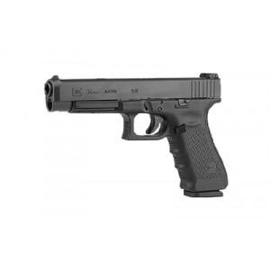 """Rebuilt Glock 34 9mm 17+1 5.32"""" Pistol in Matte (Gen 4) - PG34501"""