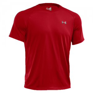 Under Armour Tech Men's T-Shirt in Red - 3X-Large