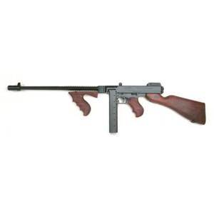 """Auto Ordinance Thompson 1927 A1 Deluxe .45 ACP 30-Round 16.5"""" Semi-Automatic Rifle in Black - T1"""