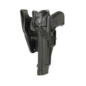 Blackhawk Level 3 Serpa Left-Hand Belt Holster for Walther P99 in Black - 44H124BK-L