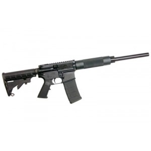 "CMMG HB AR-15 .223 Remington/5.56 NATO 30-Round 16"" Semi-Automatic Rifle in Black - 55AED49"